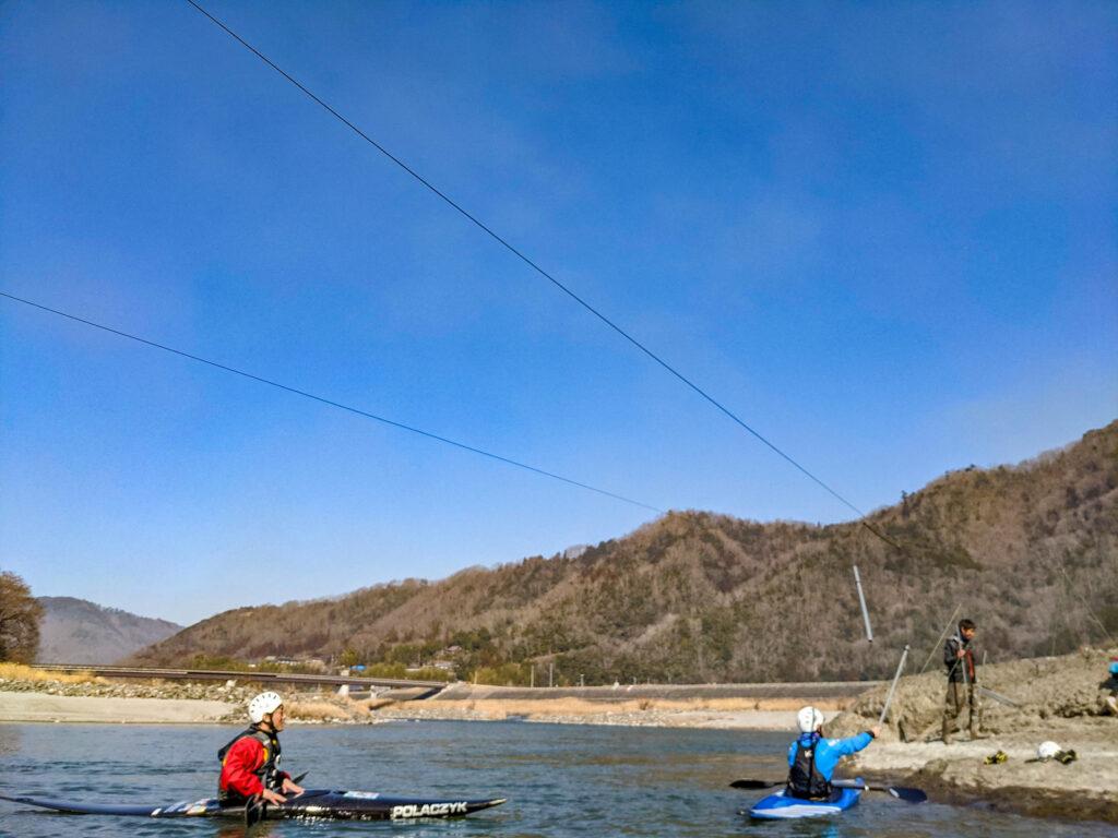 ゲート練習@かわいい富士川